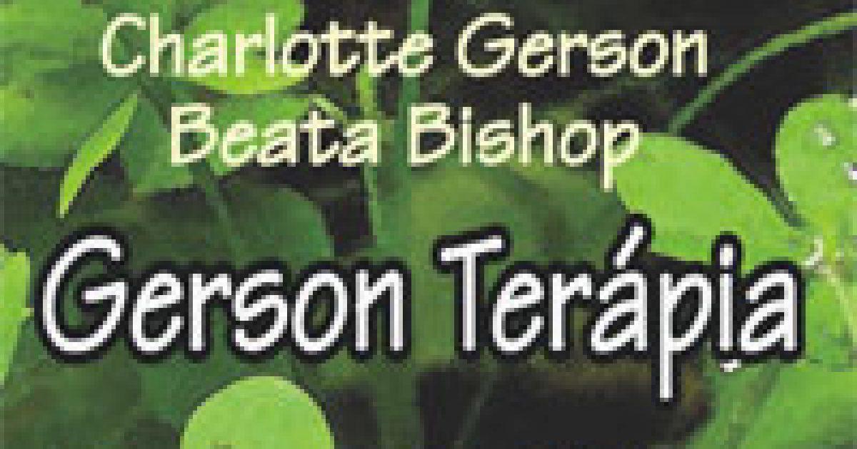 Gerson-terápia a rák ellen