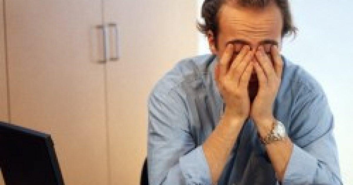 Férfiaknál cukorbetegséget okoz az állandó stressz