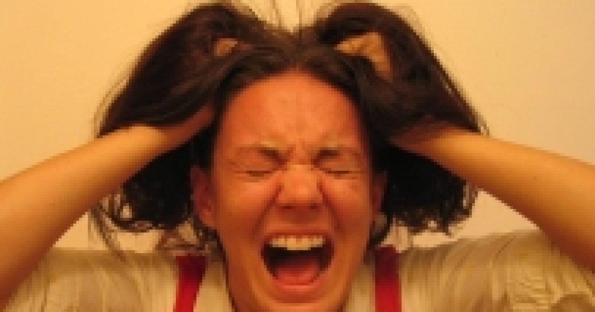 A túl sok stressztől valóban megőszülünk
