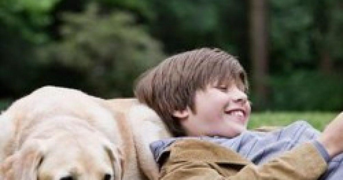 A család kutyája segíthet az autista gyerekeken