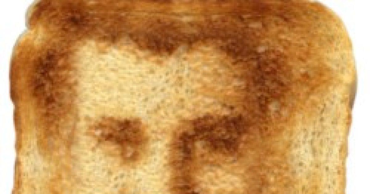 Normális, ha valaki Jézus arcképét látja a pirítóson