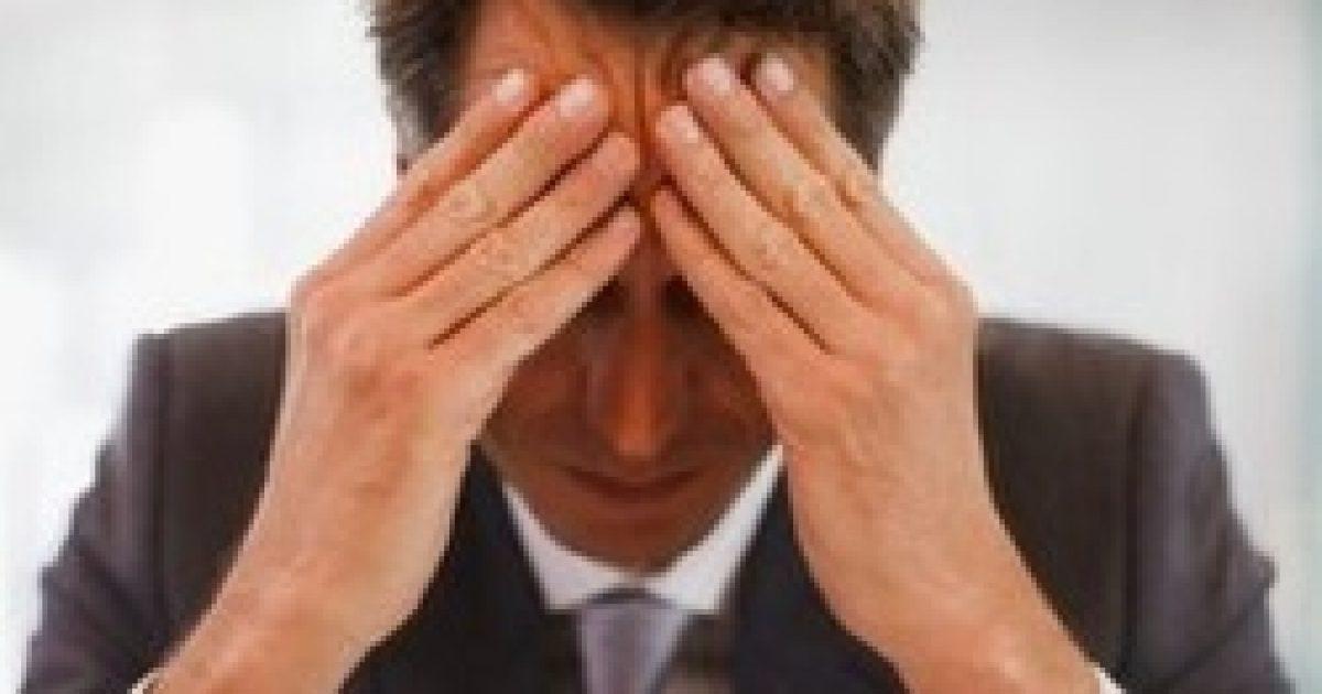 Már a kis stresszorok is károsak lehetnek a férfiak egészségére