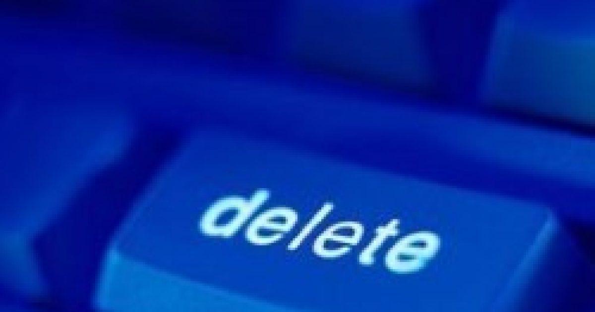 Törlés a Facebookon – javul a kapcsolat