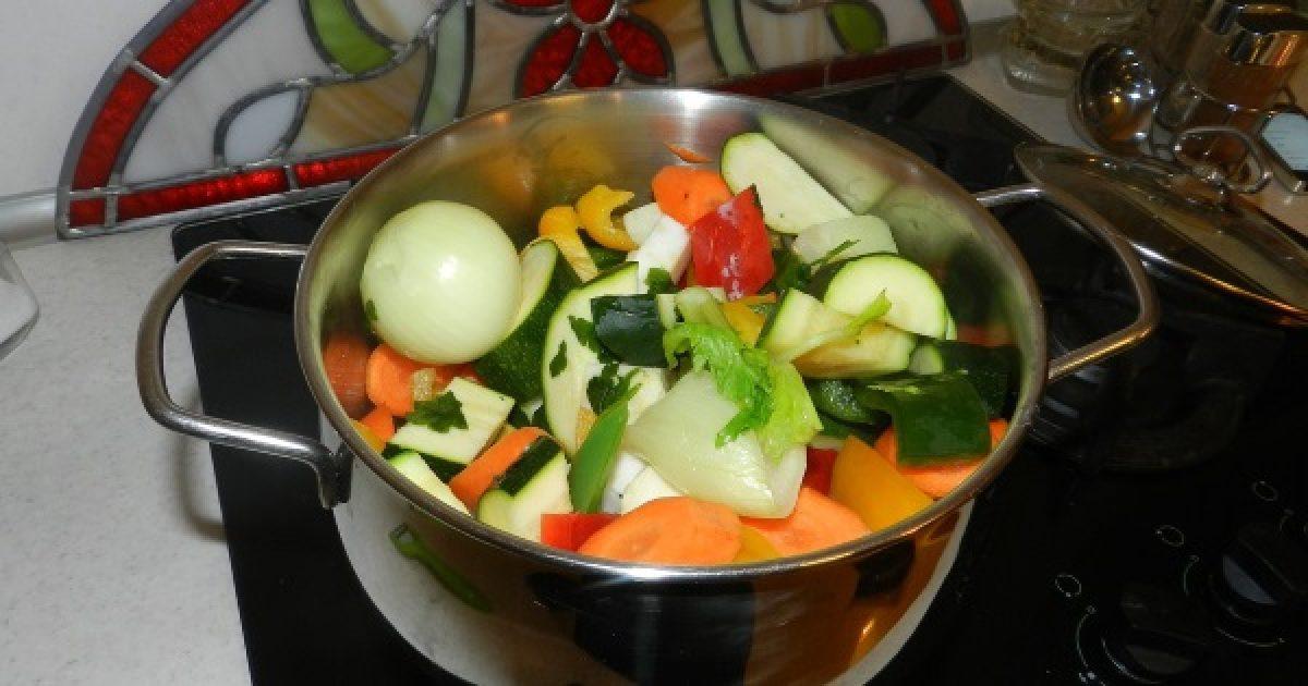 zöldségleves diétax