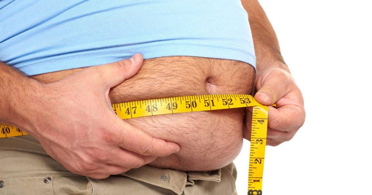 A deréktáji elhízás a legveszélyesebb