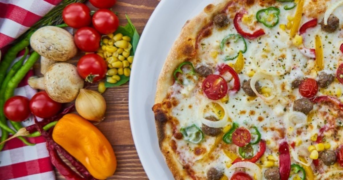 Legyen egészséges a pizzája!