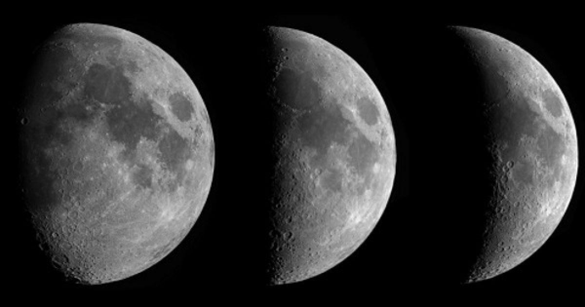 A holdciklusok hatásai – csökkenő Hold