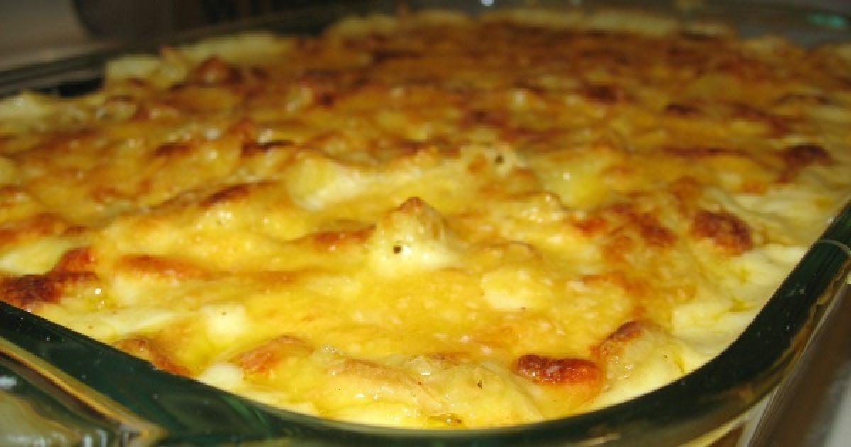 Hamis sajtos tészta karfiolból