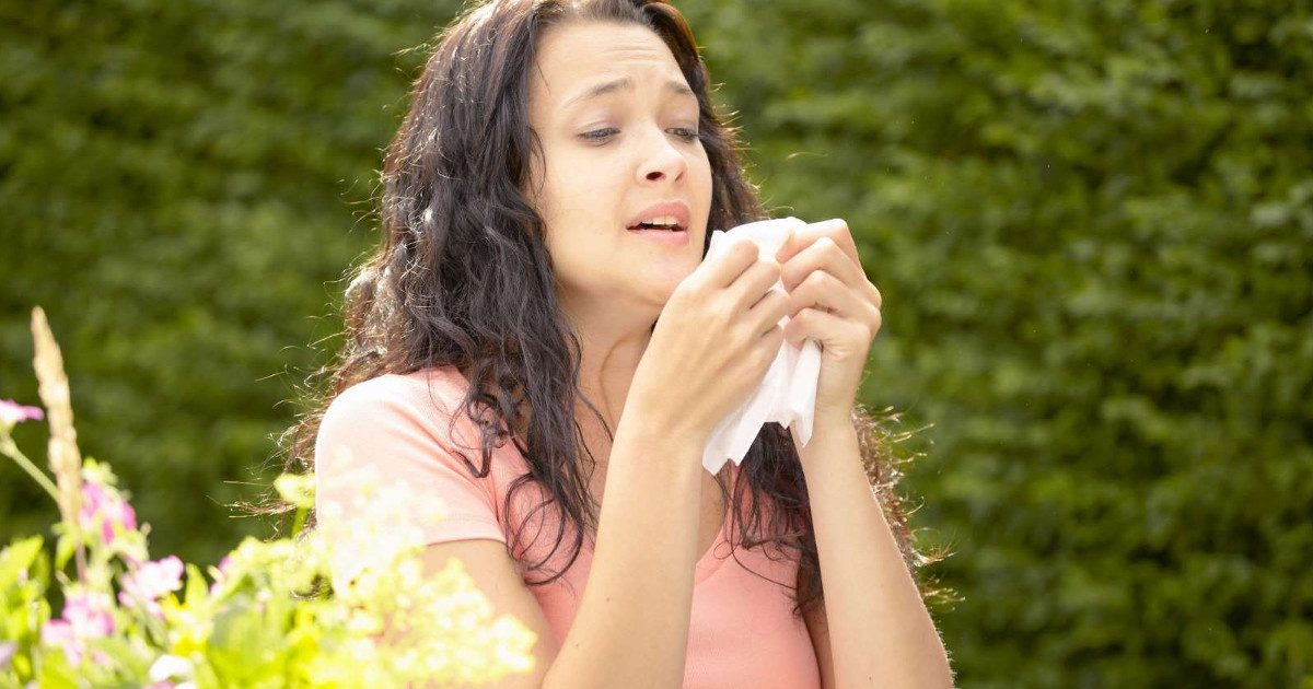 Allergiamentes tavasz