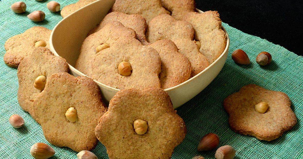 Mogyorós keksz, az ünnepre is friss marad